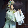 Pretty chinese traditional opera actress — Stock Photo