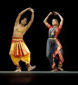 Indian BharataNatyam dancers — Foto de Stock