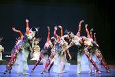 中国民族舞蹈表演 — 图库照片