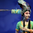 Pretty chinese traditional opera actress with theatrical costume — Stock Photo #14740265