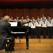 Concert of Austrian St,Florian Boy's Choir - Stock Photo