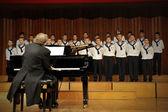 Concert of Austrian St,Florian Boy's Choir — Stock Photo