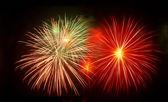 Fireworks to celebrate festival — Stock Photo