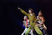 Chinese folk dance — Stock Photo