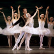 Stock Photo: SwLake ballet