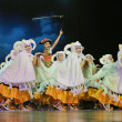 Stock Photo: Chinese ethnic dancers of Yi nationality