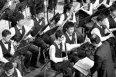Student symphonic band — Stock Photo