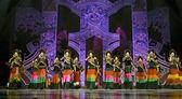 Chinese ethnic dance of Yi nationality — Stock Photo