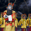 Stock Photo: Chinese traditional operactors with theatrical costume
