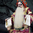Stock Photo: Chinese traditional operactor with theatrical costume
