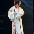 Stock Photo: Pretty chinese traditional operactress with theatrical costume
