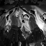 Chinese Tibetan ethnic dance — Stock Photo #14954725