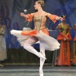 Stock Photo: Swlake ballet performed by russiroyal ballet