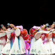 Stock Photo: Koreethnic dance