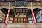 The chinese traditional theater stage — Stock Photo