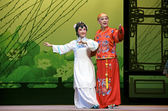 Chinese traditional opera actors — Stock Photo