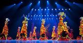 çin etnik dans yi milliyet — Stok fotoğraf