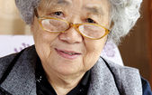 Kind grandmother — Stock Photo