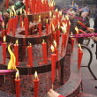 Burning incense upon the incense altar in temple — ストック写真