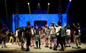 Live music concert — Stock Photo