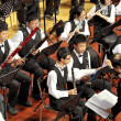 Stock Photo: Student symphonic band of High School
