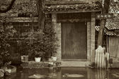 Traditional chinese old building — Stock Photo