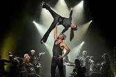 Hungarian Modern dance show — Stock Photo