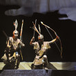 Stock Photo: Tibetethnic dancers