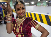 Sri Lankan traditional dancer — Foto de Stock
