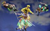 "Chinese opera ""Monkey King : Flaming Mountain"" — Stock Photo"