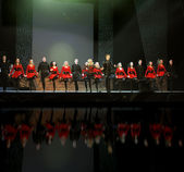 Riverdance from ireland — Stock Photo