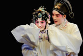 Pretty chinese Kunqu Opera actors — Foto de Stock