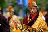 Tibetan lama — Stock Photo