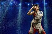 Chinese modern dancer — Stock Photo