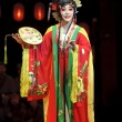 Pretty chinese traditional opera actress with theatrical costume — Stock Photo #21467003