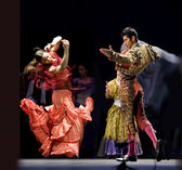 Spanish Flamenco Dancers — Stock Photo