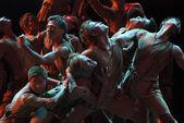 Modern dancers — Stock Photo