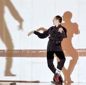 Frence modern dancer — Stock Photo