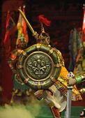 Tibetan ethnic dancers — Stock Photo