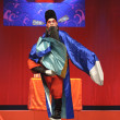 Chinese Sichuan opera performer make a show on stage — Stock Photo #7993507