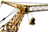 Hoist/crane with clear — Stock Photo