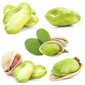 Pistachio kernels — Stock Photo