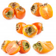 Collection of Persimmon - Stockfoto