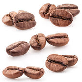 Collection of coffee beans — Stockfoto