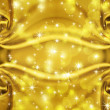 Stock Photo: Golden texture with sparkles