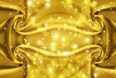Gouden textuur met sparkles — Stockfoto