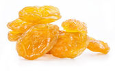 Yellow raisins — Stock Photo