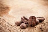 Koffie korrels — Stockfoto
