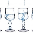 Fresh water in a glass — Stock Photo
