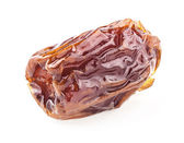 One Sun-dried dates fruit — Stock Photo